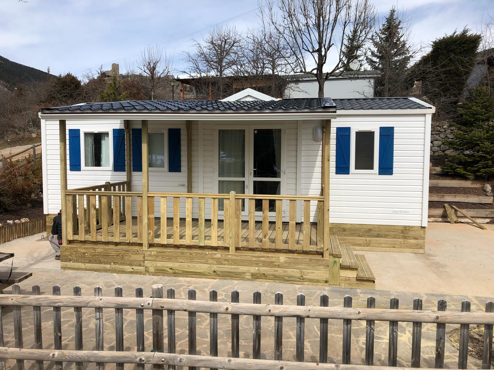Un Accesorio Perfecto Para Mobile Home Una Terraza
