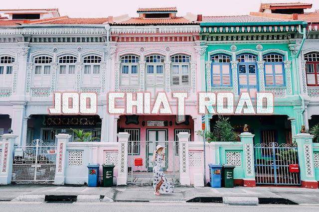 Khám phá Joo Chiat Road độc đáo tại Singapore