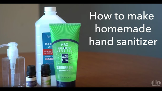 What Is the Recipe for Making Homemade Hand Sanitizer