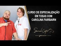 Curso Online de Especialização de Tosas com CAROLINA FAIRBAIRN