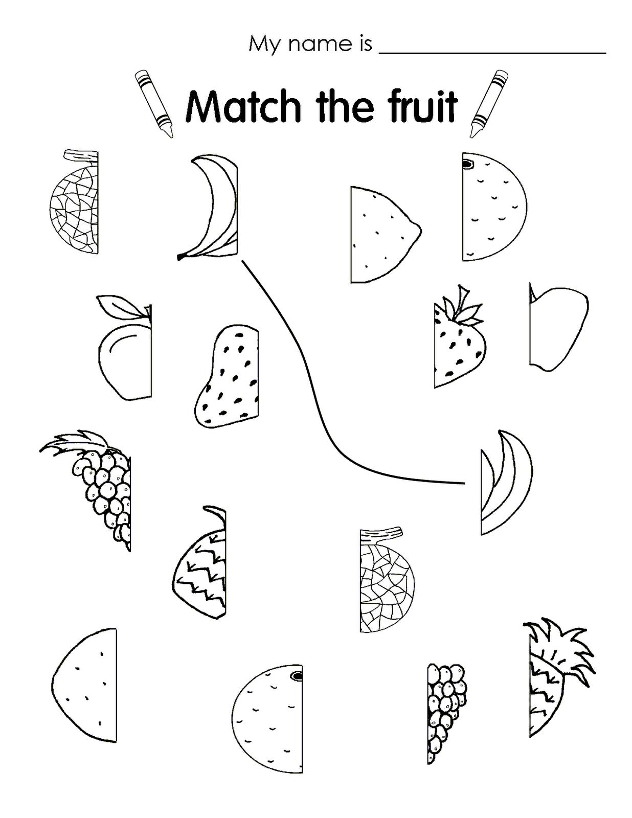Imágenes Para Colorear De Frutas En Inglés Imagui