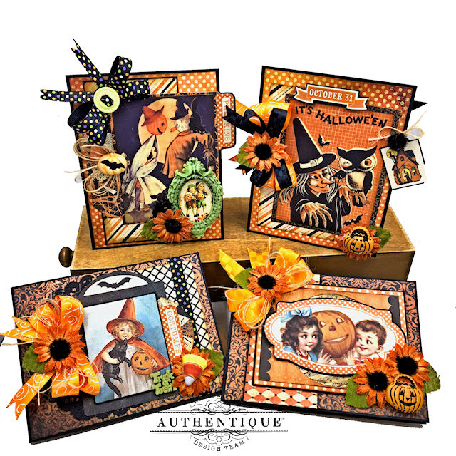 nightfall halloween gift card set tutorial