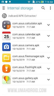 Menyimpan APK Android di Memori Telepon