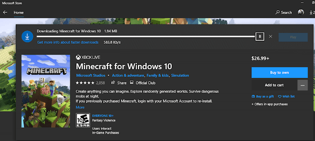 how to update minecraft pc