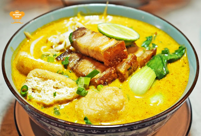 The Brew House Nyonya Laksa With Roasted Pork