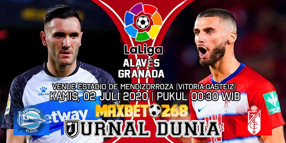 Prediksi Alaves Vs Granada 02 Juli 2020 Pukul 00.30 WIB
