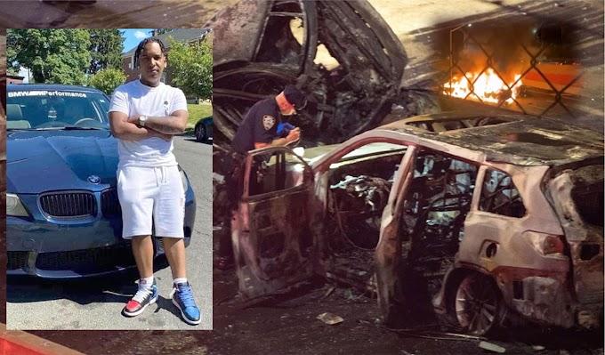 VIDEO: Adolescente dominicano y su novia mueren carbonizados en brutal accidente en autopista de El Bronx