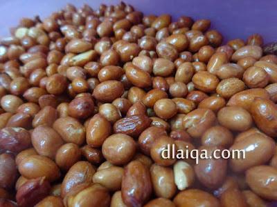 Kacang Tanah Goreng ala Rika
