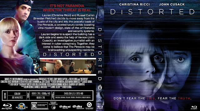 Distorted Bluray Cover