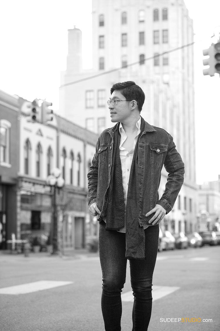 Model Style Portraits for Personal Branding Social Media by SudeepStudio.com Ann Arbor Modeling Portrait Photographer