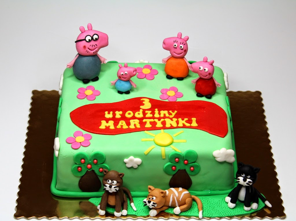Peppa Birthday Cake in Guildford, Surrey