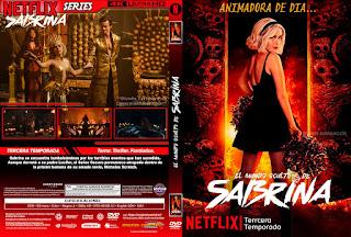 CARATULAEL MUNDO OCULTO DE SABRINA - CHILLING ADVENTURES OF SABRINA - 2020