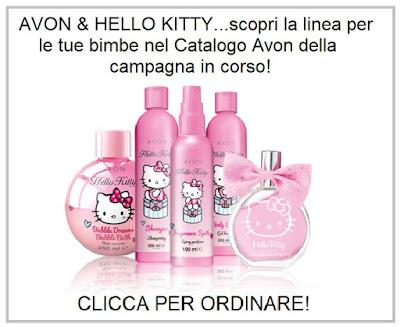 Avon & Hello Kitty. Guarda il Catalogo Avon Online della Campagna in corso e scopri come acquistare i prodotti Avon. Presentatrice Avon. Opinioni, Recensioni, Tutorial e Review sui prodotti Avon.