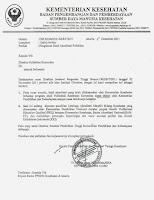 Contoh surat dinas TERBENAR DAN TERLENGKAP