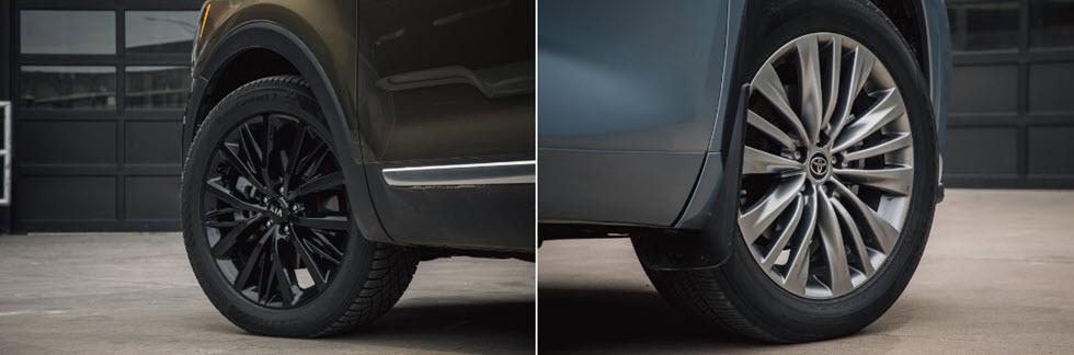 Kia Telluride 2020 và cuộc chiến với Toyota Highlander 2020