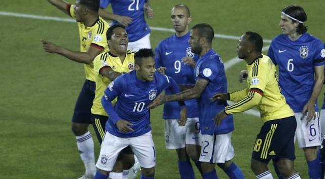AGEN BOLA - Hasil Brazil Kontra Colombia Berakhir Tanpa Pemenang
