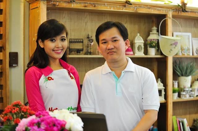 Ông chủ HoaYeuThuong.com và nhân viên