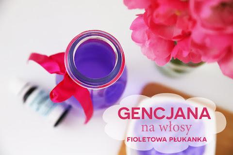 Gencjana do włosów: fioletowa płukanka. Źródło pięknego blondu! - czytaj dalej »