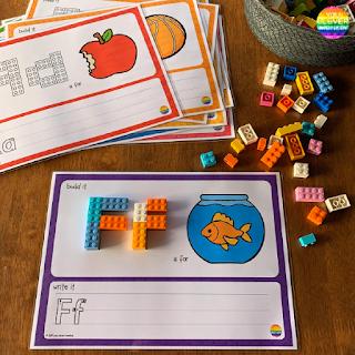 LEGO Alphabet Mats | you clever monkey