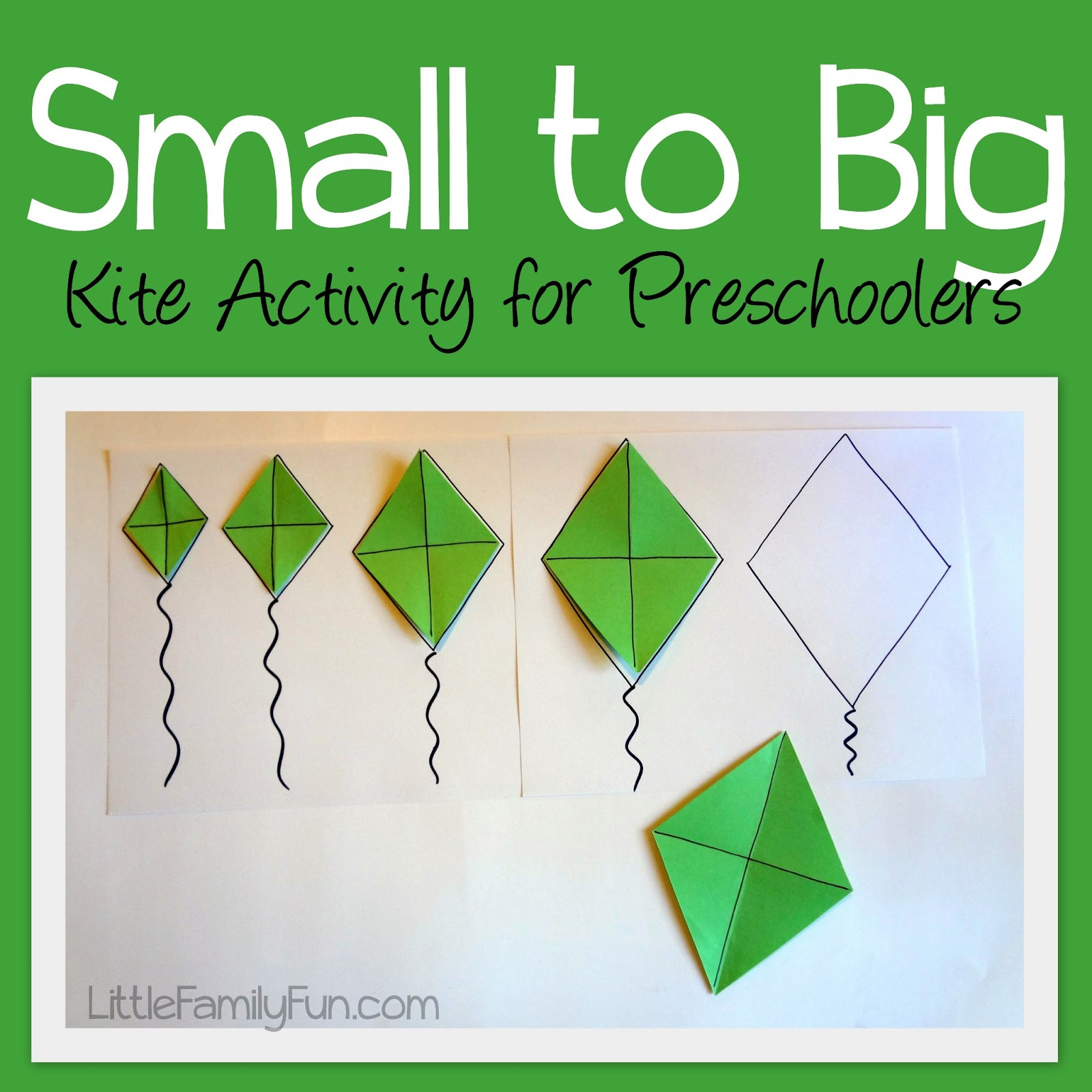 Little Family Fun Kite Sizes