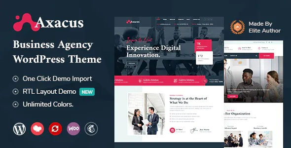Best Business Agency WordPress Theme
