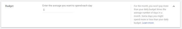 الميزانية اليومية