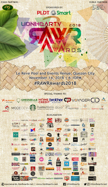 rawr awards 2018