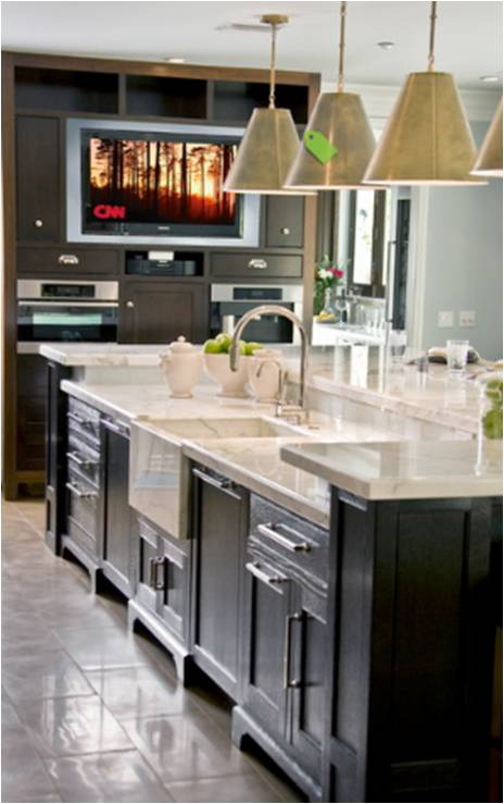 Here Are Few Pictures Of Kitchen Tv For Inspiration Decorating Ideas
