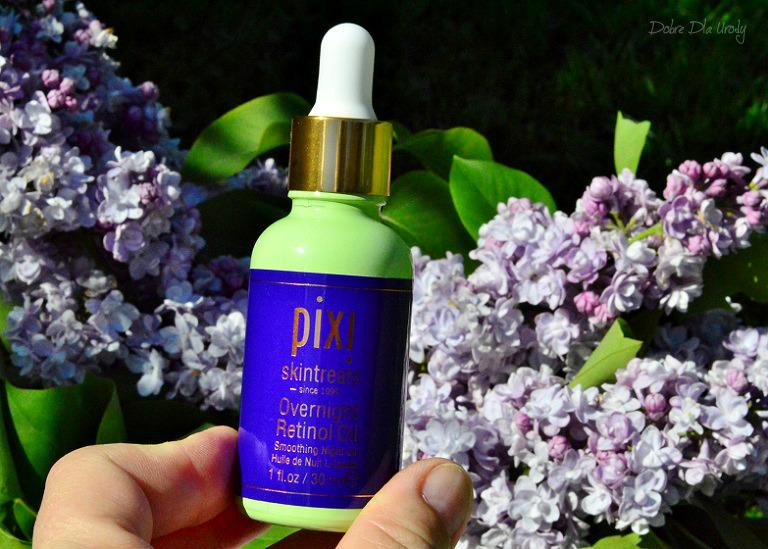 Pixi Retinol & Jasmine Collection - olejek do twarzy z Retinolem na noc