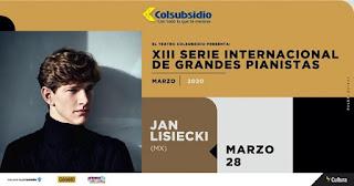 Jan Lisiecki | Cierre Serie Internacional de Grandes Pianistas 13