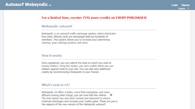 Hướng dẫn tăng traffic cho blogspot bằng Websyndic autosurf