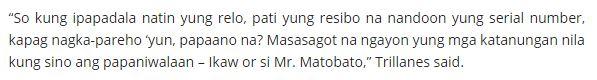 'Kung Relo Lang Ang Basehan ng Credibility, May Problema Yata' - SPO3 Lascañas to Trillanes