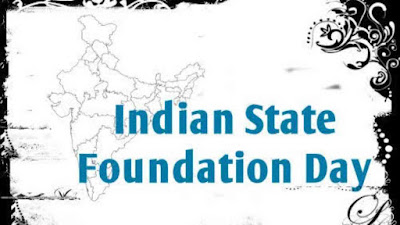 All Indian States Foundation Day & Year