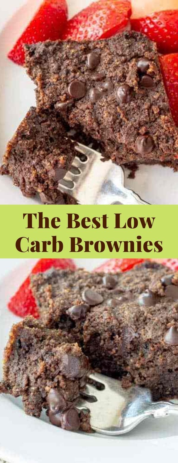 The Best Low Carb Brownies Recipe