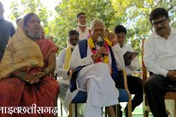 मैनपुर में नंदकुमार बघेल जी का आदिवासियों के बीच लाइव संवाद।nadkumar baghel