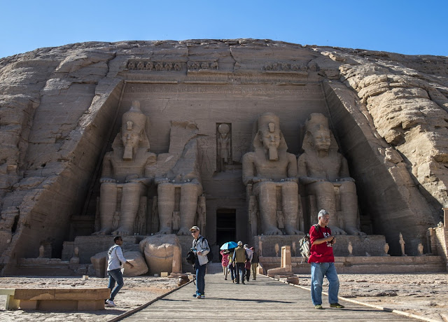 Egypt's ancient temples rescued from the Nile 50 years ago