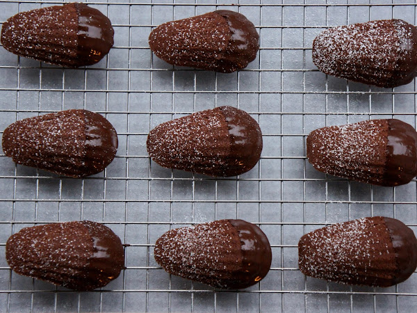 REZEPT: glutenfreie Schokoladen Madeleines