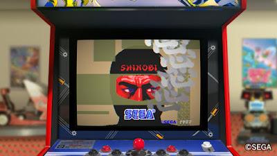 Shinobi arcade para Switch
