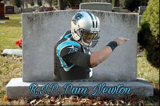 r.j.p. Pam Newton #PamNewton, #CamNewton, #panthers, #nfl2016, #nfl