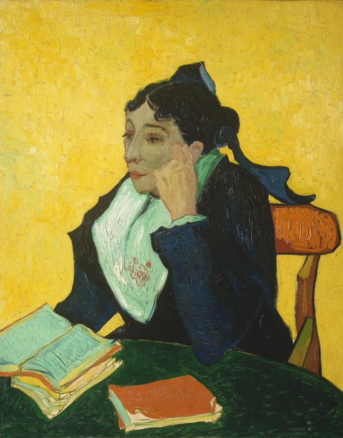 Арлезианка Мадам Жозеф-Мишель Жину (Мария Жюльен, 1848–1911). Vincent van Gogh