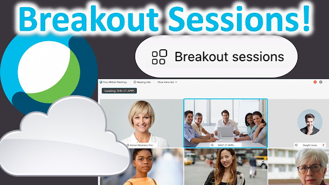 Breakout Sessions webex Meeting