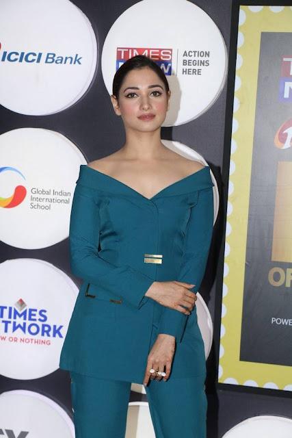 Tamanna Stills At 4th NRI Of The Year Awards