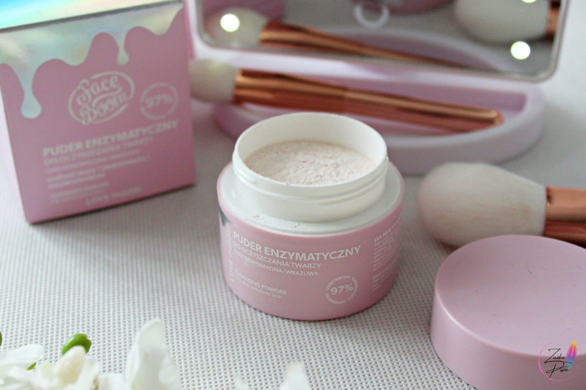 BodyBoom delikatny puder enzymatyczny do oczyszczania twarzy