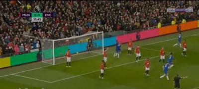 ملخص مباراة مانشستر يونايتد وايفرتون