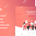 LeLand - Isometric Business Adobe XD Landing Page Template