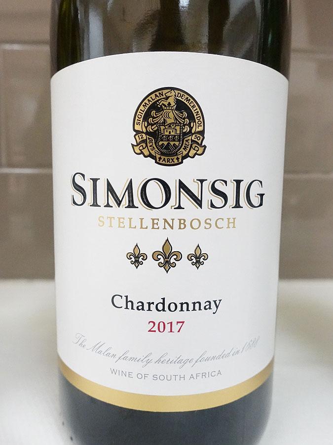 Simonsig Chardonnay 2017 (89 pts)