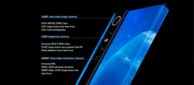 Xiaomi Mi Mix Alpha 5G smartphone