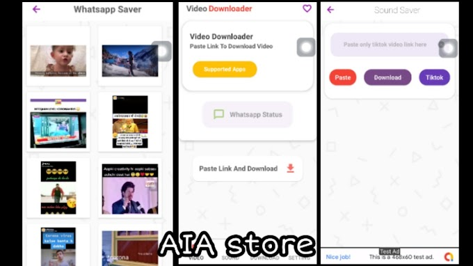 All in one Video Downloader and Whats App Saver without Watermark aia for Kodular And Earn 20$ Everyday