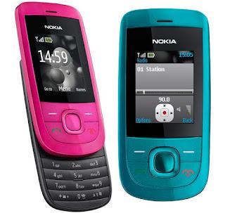Spesifikasi Ponsel Nokia 2220 slide