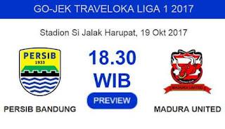 Menjamu Madura United, Persib Bandung Evaluasi Lini Belakang